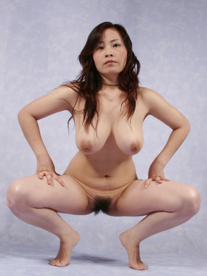 nude and spreading